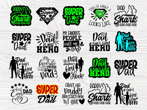 Dad SVG Cut File, Best Dad Ever Svg, Super Dad Svg SVG TonisArtStudio