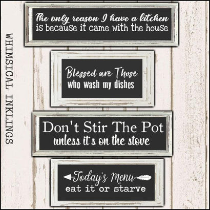 Don't stir the Pot SVG Files SVG Whimsical Inklings