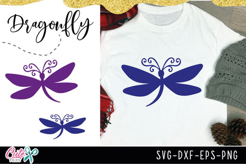 Dragonfly mini bundle SVG cut file for crafters SVG Cute files