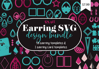 Earring SVG Design Bundle Bundle So Fontsy Design Shop