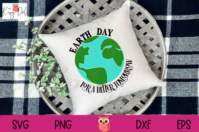Earth Day | A Better Tomorrow SVG The Rosy Owl