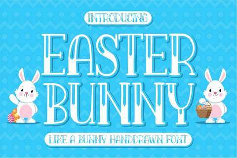 Easter Bunny Font Good Java