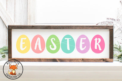 Easter Eggs SVG | Easter Files | SVG PNG DXF Cut Files SVG RedFoxDesignsUS