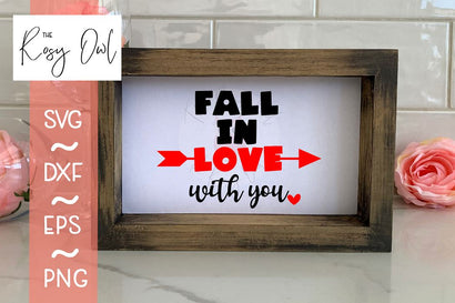 Fall in Love with You SVG The Rosy Owl