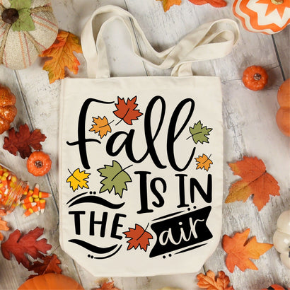 Fall is in the air SVG, PNG, DXF, EPS, PDF, JPG SVG WasatchDesignsShop