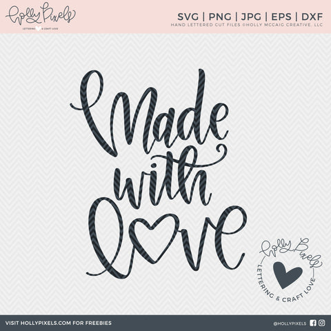 Family SVG | Made with Love SVG | New Baby SVG | Newborn svg File SVG So Fontsy Design Shop
