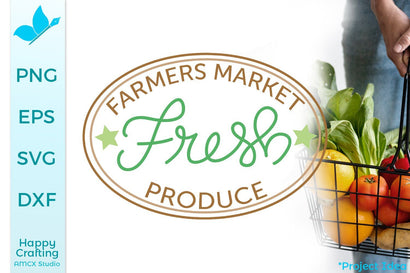 Farmers Market Fresh Produce SVG AMCX Studio