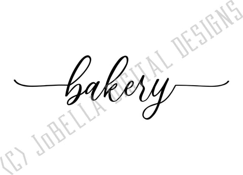 Farmhouse Style Bakery SVG Cut File and Printable SVG JoBella Digital Designs