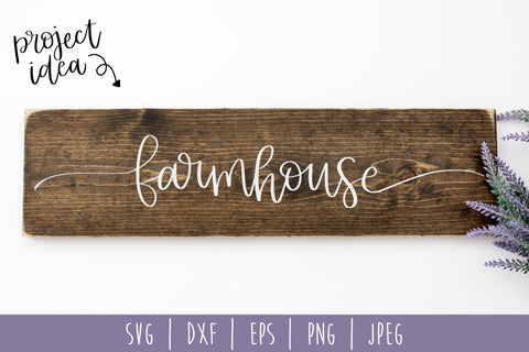 Farmhouse SVG SavoringSurprises