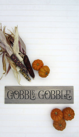 Farmhouse Thanksgiving Gobble Gobble SVG File SVG Board & Batten Design Co