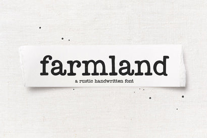 Farmland - Rustic Farmhouse Font Font KA Designs