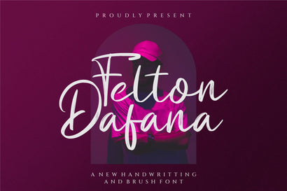 Felton Dafana_brush signature Font toni_std