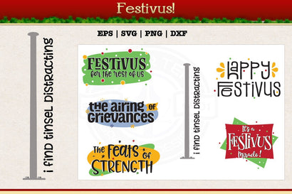 Festivus SVG AfterTenDesign