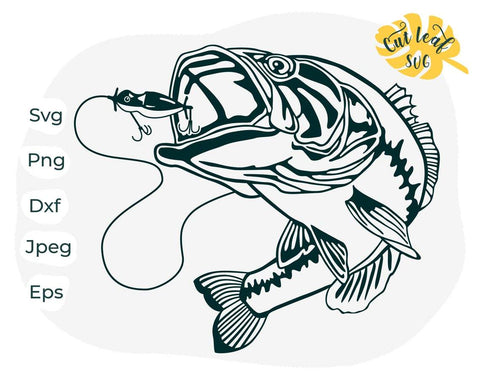 Download Fishing Svg Fish Svg Fathers Day Svg Bass Fishing Svg Camping Svg Fishing Lure Svg Fishing Clipart Fish Clipart So Fontsy