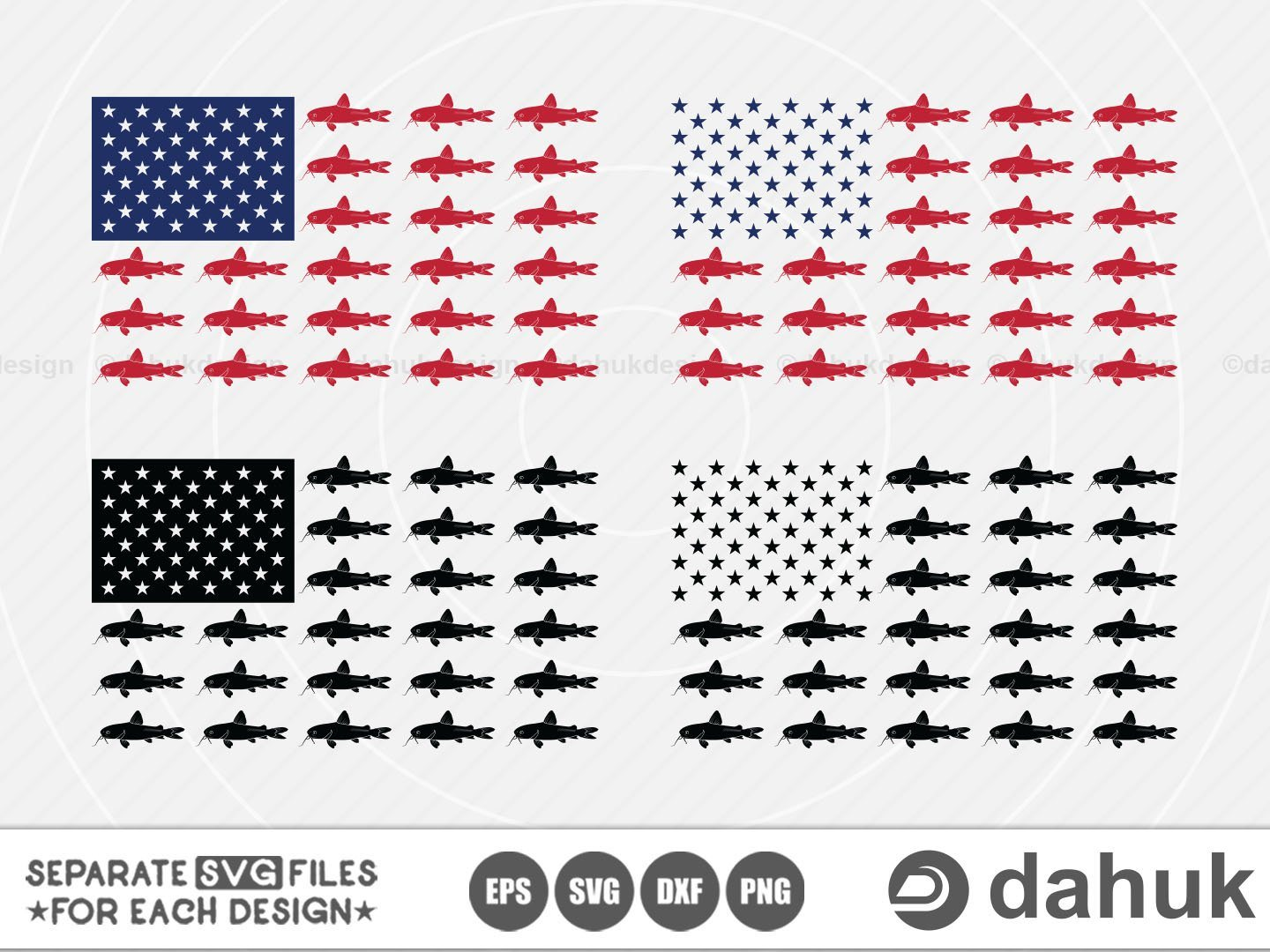Download Fishing Usa Flag Svg Catfish Flag Svg American Flag Fish Svg Silhouette Clipart Cuttable Design Svg Png Memorial Day So Fontsy