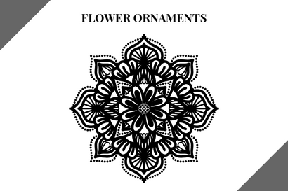 Flower Ornaments Bundle SVG Masyafi Studio
