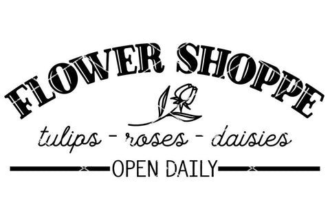 Flower Shoppe - Summer SVG SVG So Fontsy Design Shop