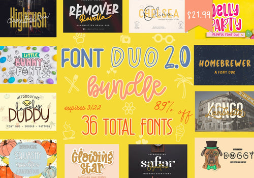 Font Duo Bundle 2.0