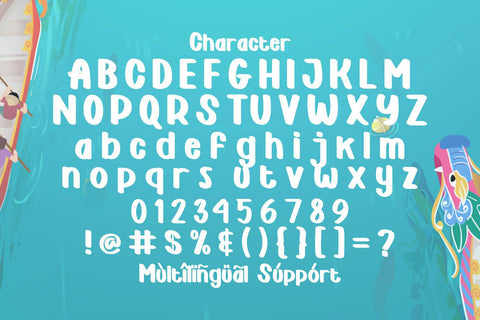 Geky Xin - Playful Display Font Font StringLabs