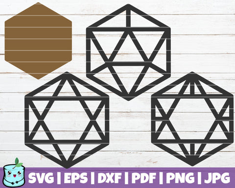 Geometric Earrings SVG MintyMarshmallows