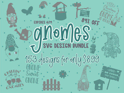 Gnomes SVG Design Bundle Bundle So Fontsy Design Shop