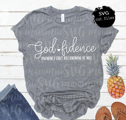 Godfidence SVG Cut File Inspiring Quotes Svg SVG MaiamiiiSVG