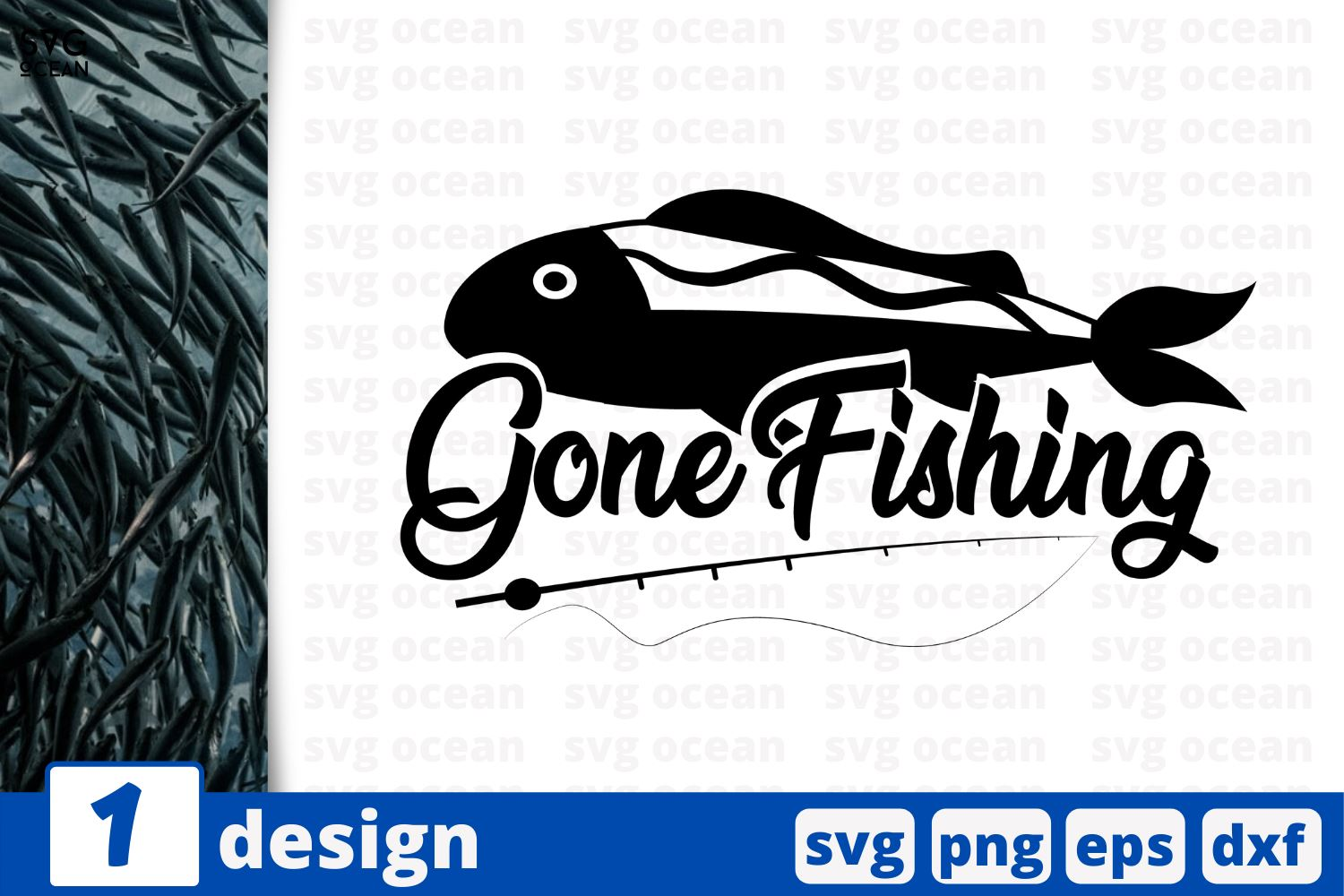 Download Gone Fishing Fishing Quotes Cricut Svg So Fontsy