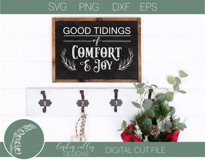 Good Tidings Of Comfort and Joy SVG SVG Linden Valley Designs
