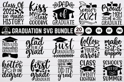 graduation svg bundle vol 3 SVG buydesign