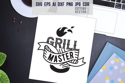 Grill Master Quote SVG SVG VectorSVGdesign