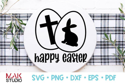 Happy easter bunny svg SVG MAKStudion