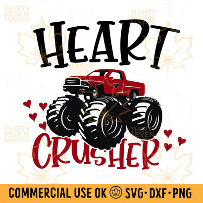 Heart Crusher SVG Thirty Seven Maple
