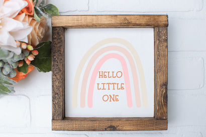 Hello Little One SVG | New Baby SVG So Fontsy Design Shop