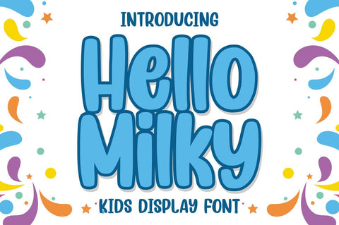 Hello Milky Font Good Java
