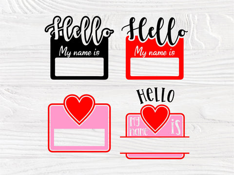 Hello my name is SVG | Newborn svg | New baby svg | Name svg | Newborn cut files for cricut and silhouette | Newborn monogram | Baby bundle SVG TonisArtStudio