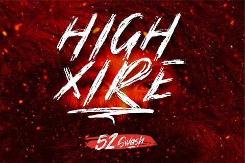 High Xire Font Garisman Studio