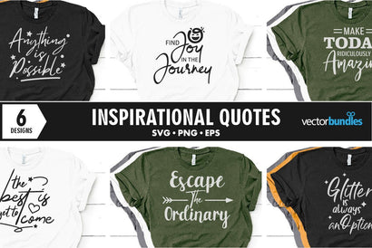 Inspirational quote bundle svg SVG vectorbundles