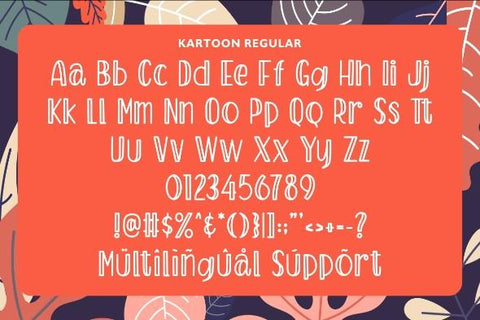 Kartoon – Display Font Font Garisman Studio