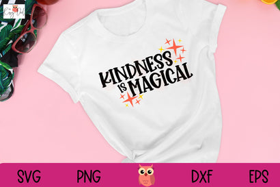 Kindness is Magical SVG The Rosy Owl