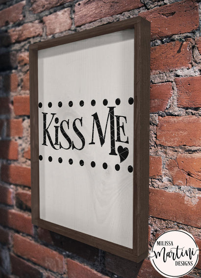 Kiss Me Milissa Martini Designs