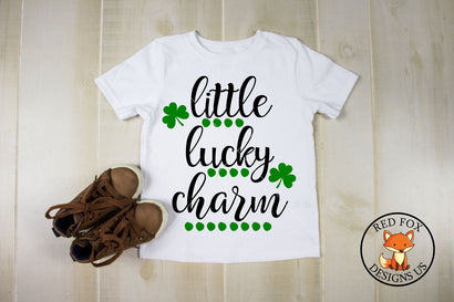 Little Lucky Charm SVG | St Patrick's| Daddy's Lucky Charm SVG RedFoxDesignsUS