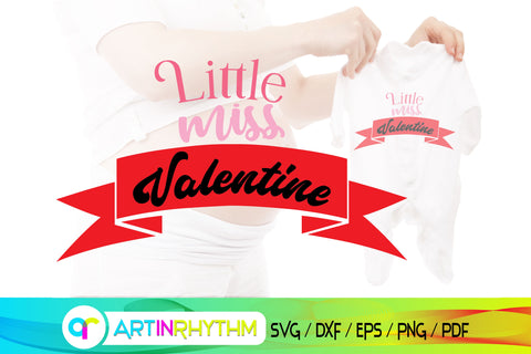 little miss valentine, happy valentine's day, valentines svg SVG Artinrhythm shop