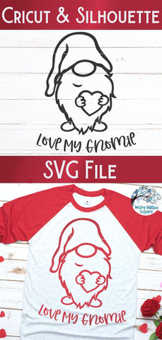 Love My Gnomie Svg SVG Wispy Willow Designs