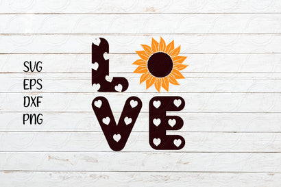 Love Sunflower svg SVG SmmrDesign