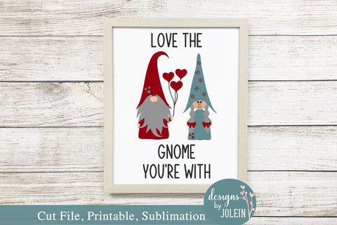 Love the Gnome SVG Designs by Jolein
