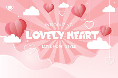 Lovely Heart Font Fachranheit Studio