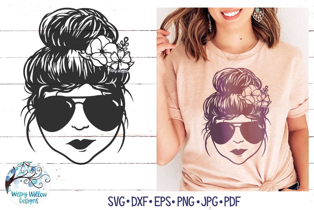 Softball Messy Bun Mom Svg – 56+ File Include SVG PNG EPS DXF