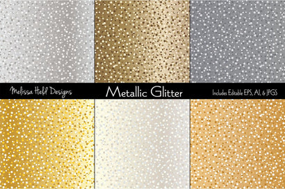 Metallic Glitter Melissa Held Designs