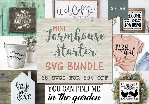 Mini Farmhouse Bundle