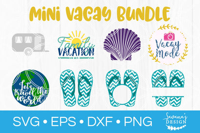 Mini Vacay SVG Bundle SVG SavanasDesign